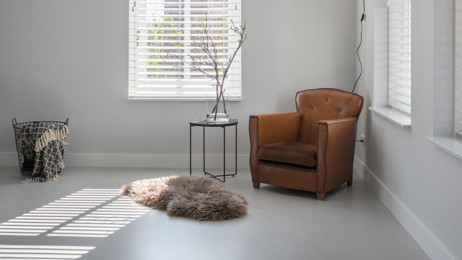 Gietvloer Druten voor woningen of woonkamer, keuken, toilet