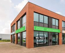 Gietvloer showroom Rotterdam