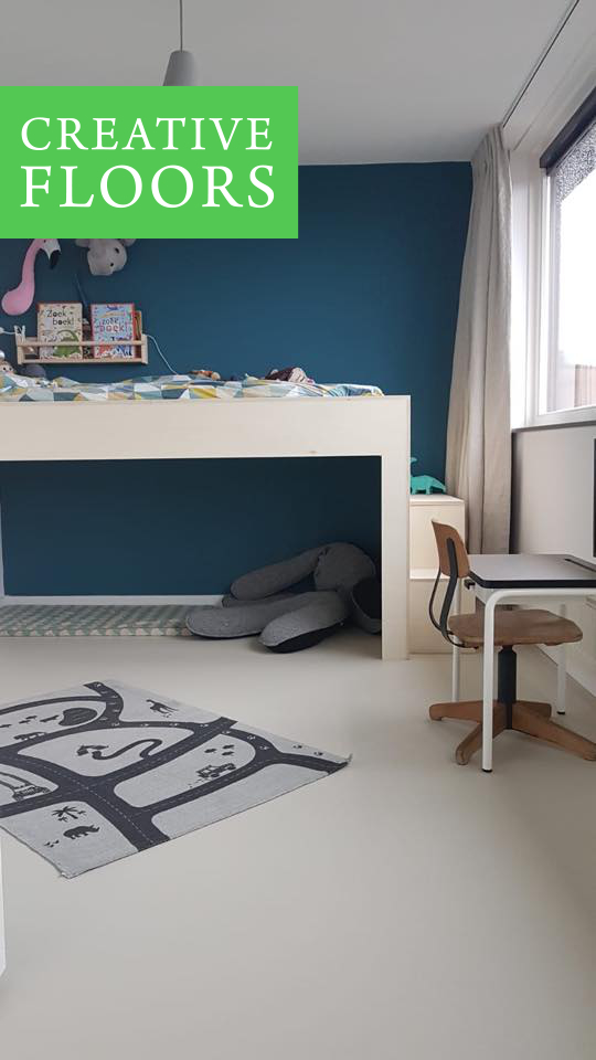 Gietvloer slaapkamer Breda